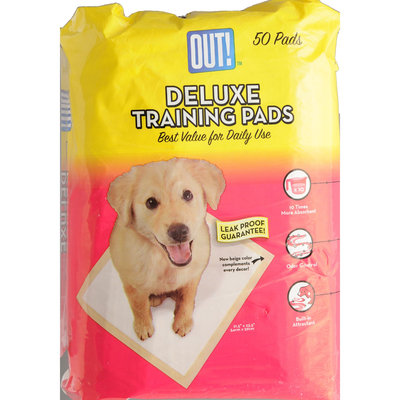Bramton Co, Out! Deluxe Training Pads 50 count