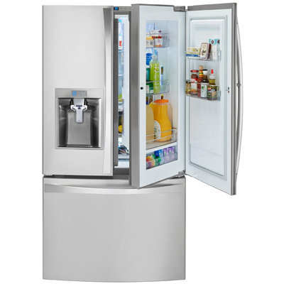 Kenmore Elite 24 cu. ft. Counter Depth Bottom Freezer Refrigerator w/ Grab N Go Door - LG ELECTRONICS U.S.A, INC.