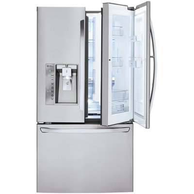 LG 30 cu. ft. Super Capacity French Door Refrigerator w/ Door in Door - LG ELECTRONICS U.S.A, INC.