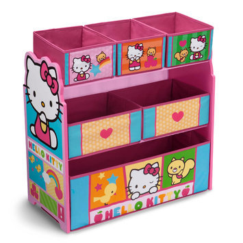 Delta Children Hello Kitty Multi Bin Toy Organizer