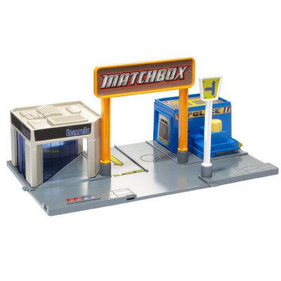 Mattel Matchbox Adventure Links Police Headquarters Play-set