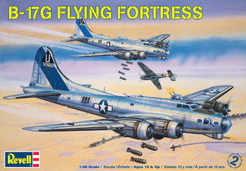Revell 1:48 Scale B17G Flying Fortress Model