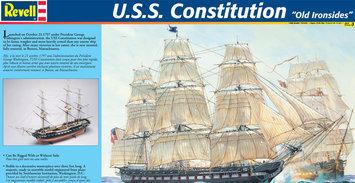 Revell-Monogram 1:96 USS Constitution Plastic Model Kit