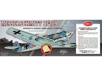 Guillow's Messerschmitt Laser Cut Model Kit