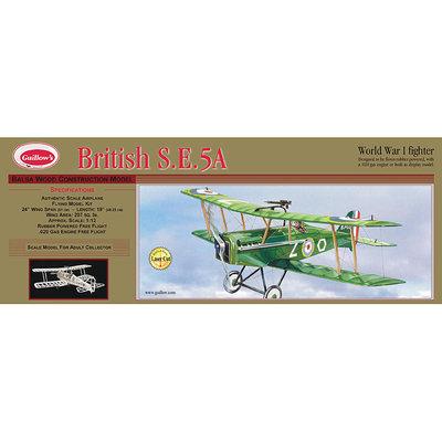 Guillow's British SE 5-A Laser Cut Model Kit