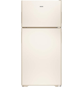 Hotpoint HPS15BTHRCC 14.6 cu. ft. Top-Freezer Refrigerator with 3 Fresh Food Shelves, Dairy Compartment, Reversible Hinges, Gallon Door Storage and Never Clean Condenser
