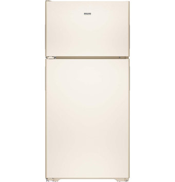 Hotpoint HPS15BTHLCC 14.6 cu. ft. Top-Freezer Refrigerator with 3 Fresh Food Shelves, Dairy Compartment, Reversible Hinges, Gallon Door Storage and Never Clean Condenser