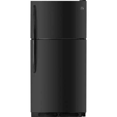 Kenmore 15 cu. ft. Top Freezer Refrigerator Black - FRIGIDAIRE COMPANY