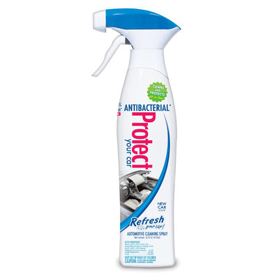 Handstands Antibacterial Protect Spray 16oz- New Car