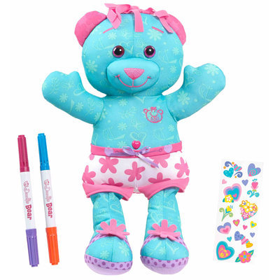 Just Play Fisher-Price Doodle Bear - Magic Glow - Blue