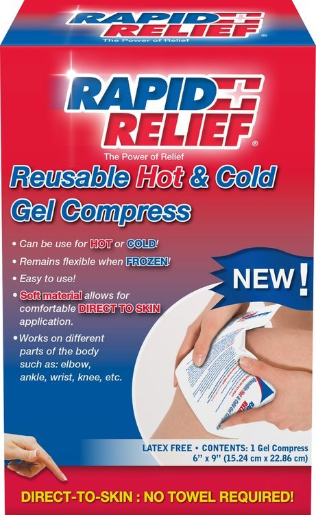 Rapid Aid Rapid Relief Hot and Cold Reusable 1 Ct (15.24cm x 22.86cm)