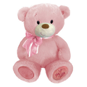 First & Main, Inc. 10-Inch Baby Cuddleups Pink Teddy Bear