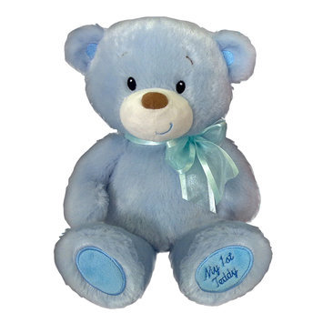 First & Main, Inc. 15-Inch Baby Cuddleups Blue Teddy Bear