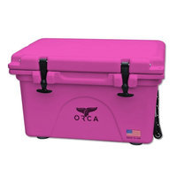 Entertainment Production House Outdoor Recreational Company of America 20 Quart Pink Extra Heavy Duty Cooler