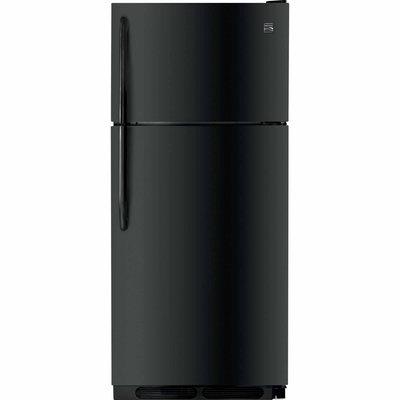 Kenmore 16 cu. ft. Top Freezer Refrigerator Black - FRIGIDAIRE COMPANY