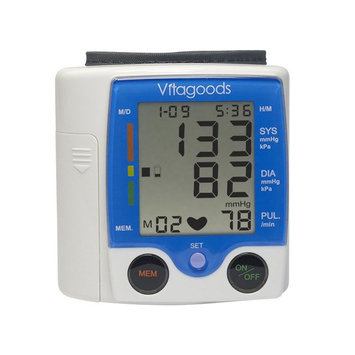 VitaGoods Travel Pulse Portable Blood Pressure Monitor - 90 Reading(s)