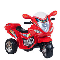 Lil Rider Baron Motorized Ride-On Motorcycle Color: Red