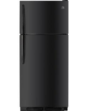 Kenmore 18 cu. ft. Top Freezer Refrigerator Black - FRIGIDAIRE COMPANY