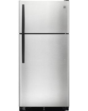 Kenmore 18 cu. ft. Top Freezer Refrigerator Stainless Steel - FRIGIDAIRE COMPANY