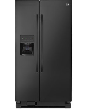 Kenmore 25 cu. ft. Side by Side Refrigerator w/ SmartSense Cooling Technology Black - 883049