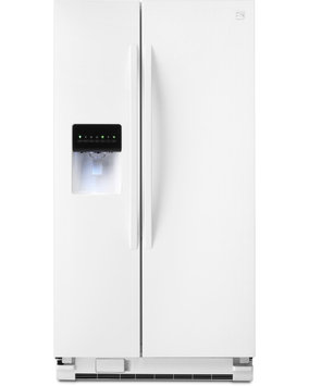 Kenmore 25 cu. ft. Side by Side Refrigerator w/ SmartSense Cooling Technology White - 883049