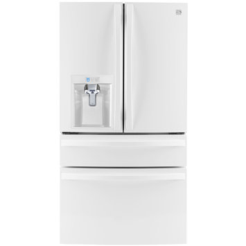 Kenmore Elite 30 cu. ft. 4 Door Bottom Freezer Refrigerator w/Dispenser - LG ELECTRONICS U.S.A, INC.