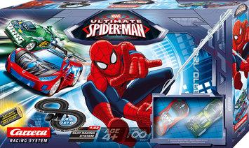 Carrera Spiderman Battery Operated Slot Car Set