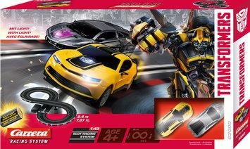 Carrera Transformers Battery Operated Slot Car Set