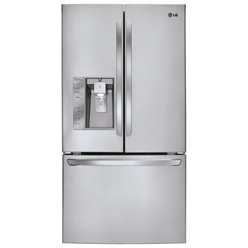 LG Electronics Refrigerator. Ice Maker. 28.8 cu. ft. French Door Refrigerator in Stainless Steel with Dual s LFXS29626S