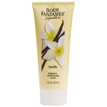 Body Fantasies Signature Vanilla Moist Lotion, 7 Fz