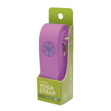 Living Arts Gaiam - 6' Yoga Strap - Purple