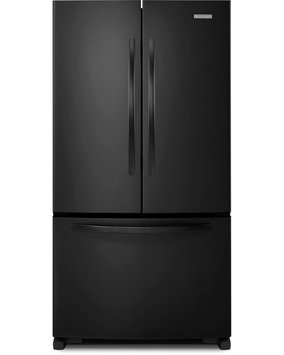 KitchenAid Architect Series II KBFS25ECBL 25 cu. ft. French Door Refrigerator with PUR Filtration System, Automatic Ice Maker, Interior Water Dispenser, Slide-Away Split Shelf and Energy Star Qualified: Black