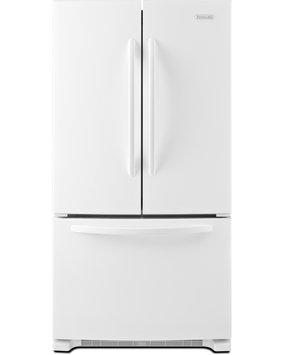 KitchenAid Architect Series II KBFS25ECWH 25 cu. ft. French Door Refrigerator with PUR Filtration System, Automatic Ice Maker, Interior Water Dispenser, Slide-Away Split Shelf and Energy Star Qualified: White