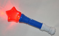 WeGlow International 12USST Light Up Usa Star Wand - Set Of 3