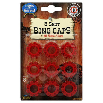 Imperial Legends of the Wild West 8 Shot Ring Caps