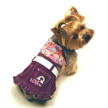 Simply Dog Annabel Dog Tank and Skirt Small - SIERRA ACCESSORIES