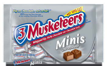 3 Musketeers Miniature Bars