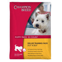 Champion Breed Deluxe Puppy Training Pads 32 Pack - KMART CORPORATION