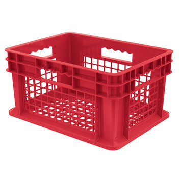 Akromills Akro Mils 37208R Red Straight Wall Container Bin