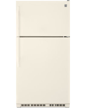 Kenmore 21 cu. ft. Top Freezer Refrigerator w/ Humidity Controlled Crispers Biscuit - 883049