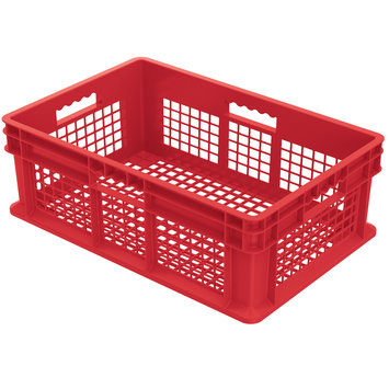 Akromills Akro Mils 37608 Red Straight Wall Container Bin
