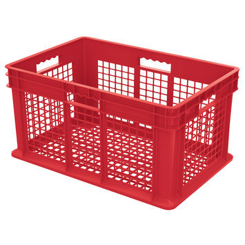 Akromills Akro Mils 37612 Red Straight Wall Container Bin