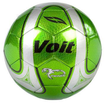 Lion Sports Inc. VVoit Size 5 Radente Soccer Ball, Deflated, - GREEN