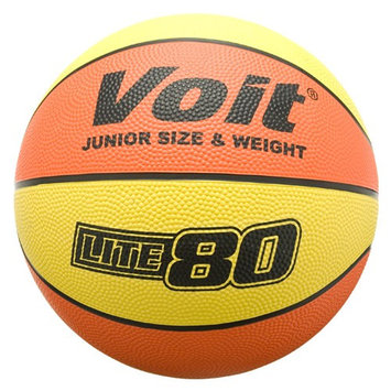 VOIT BASKETBALL BLK W YELLOW PIPING