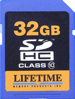 Lifetime Memory Products Secure Digital Card 2GB