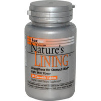 Lane Labs Nature's Lining, Light Mint 60 chewable tablets