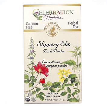 Celebration Herbals Slippery Elm Bark Powder Bulk Tea Caffeine Free - 40 g