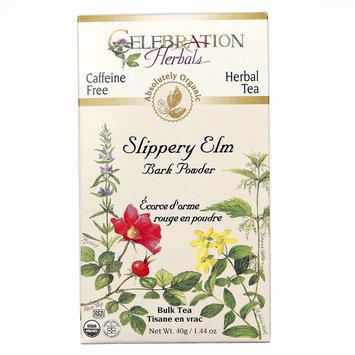 Celebration Herbals Slippery Elm Bark Powder Bulk Tea Caffeine Free - 40 g