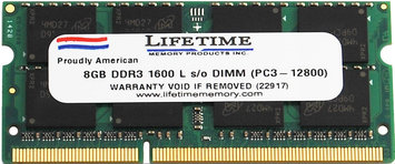 Waterbury Garment 8GB ddr3 1600/12800 sodimms