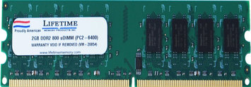 Waterbury Garment 2GB ddr2 800/6400 long dimms